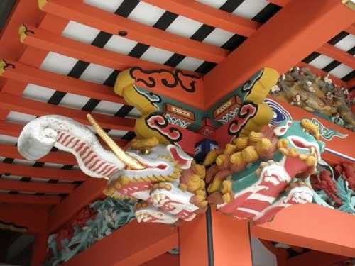 霧島神宮彫刻