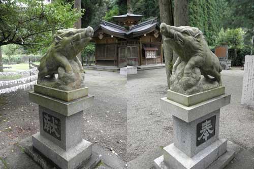 和気神社の狛犬