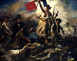 民衆を導く自由の女神   Wikipedia