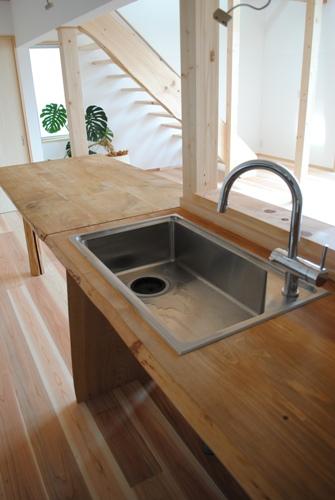 キッチン 木製キッチン : 木製キッチン 夢をかなえる ...