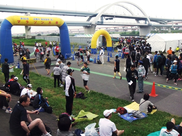 第50回記念 六無月東京喜多(北)マラソン