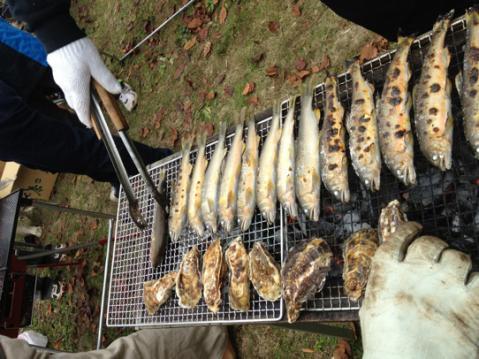 IMG_8356鮎と牡蠣
