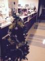 M記念病院 13階 X'masツリー