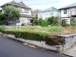 金井二丁目旧分譲地