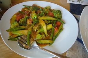 野菜の中華炒め
