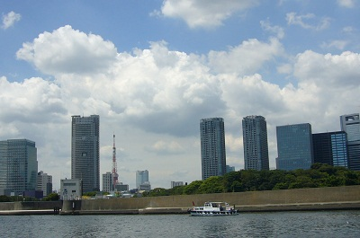 隅田川 東京タワー