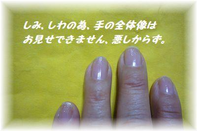 指、ブログ