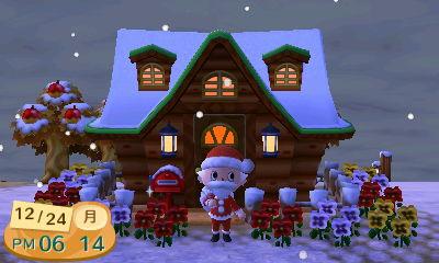 とびだせどうぶつの森 クリスマスイブ