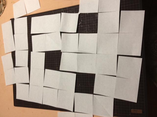 十二面体の連鶴