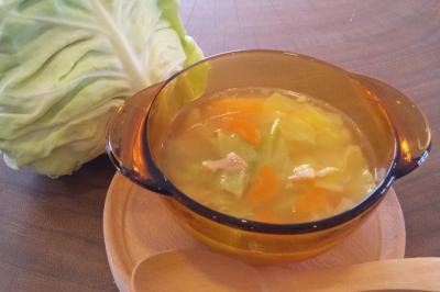 201204キャベツスープ