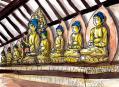 浄瑠璃寺本堂内の様子