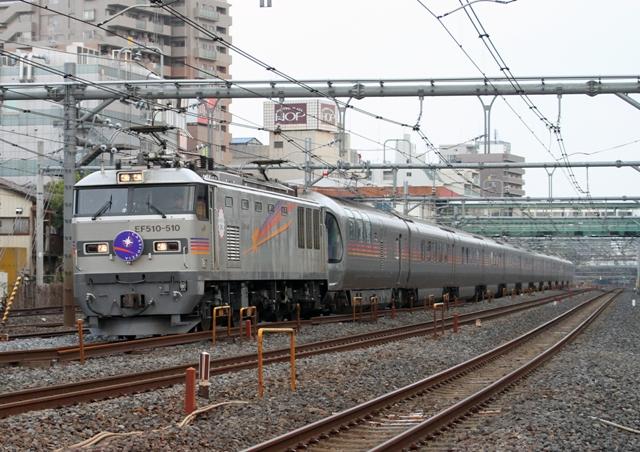 EF510-510 8009レ カシオペア