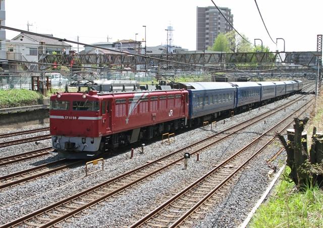 EF81-98   試9501レ