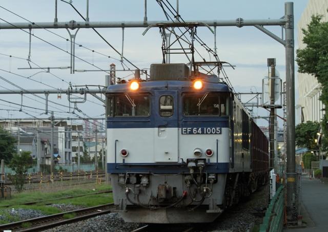 EF64-1005  3053レ