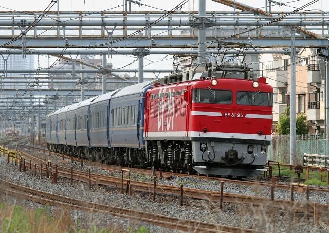 EF81-95 試9502レ
