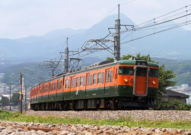 上越線731M渋川~敷島