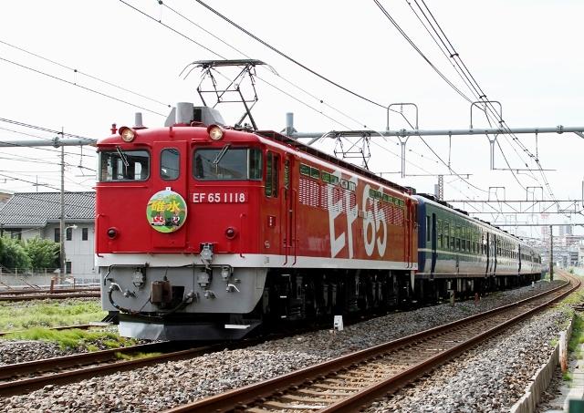 EF65-1118 碓氷号
