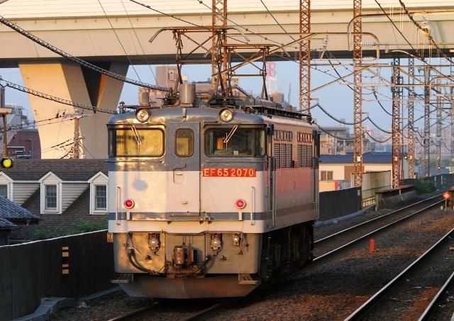 EF65-2070 単3084レ