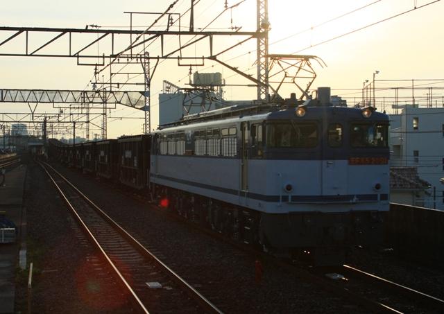 EF65-2091 5764レ 石炭