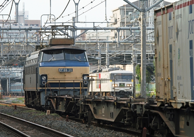 EF66-36 後撃ち 3004M草津4号