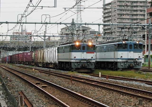 EF65-2060 2074レ・EF65-2036 7070レ