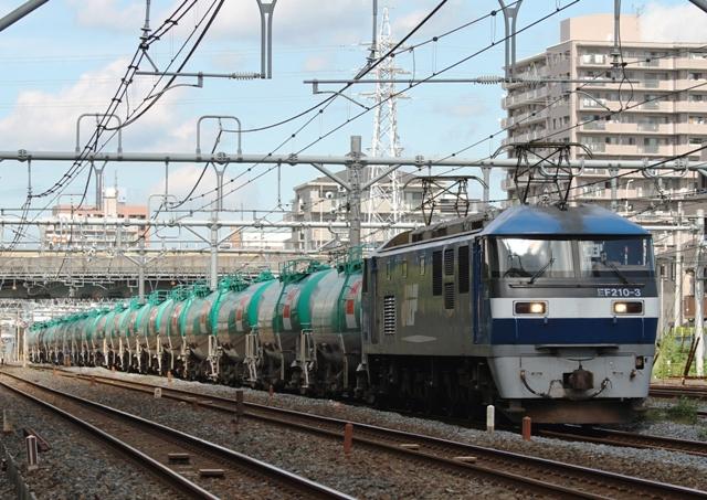 EF210-3 5078レ代走