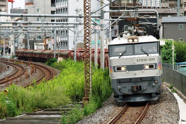 EF510-509 安中貨物 5781レ