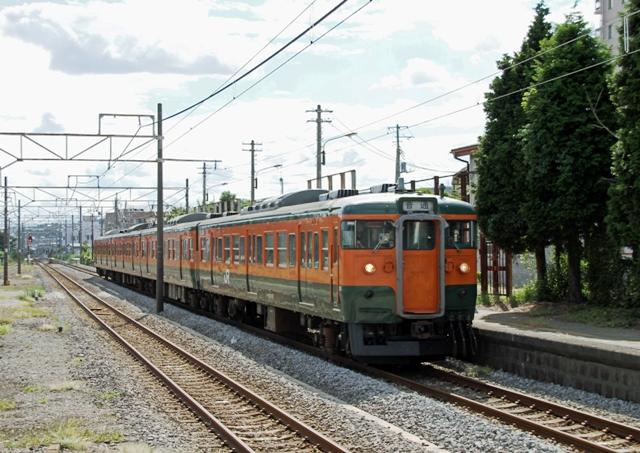 115系 草津線 525M