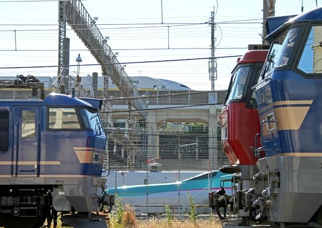 EF510 eh500 新幹線