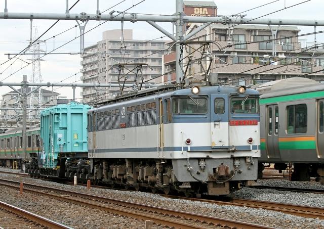 EF65-2138+シキ180 9592レ