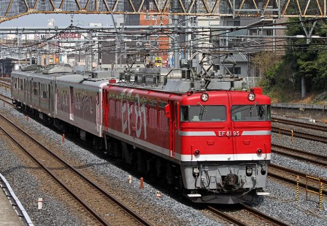 EF81-95 ゆうマニ+701系