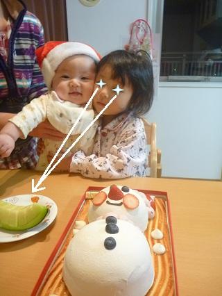 ケーキよりメロン