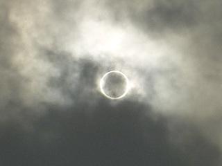 金環日食 at 港南台