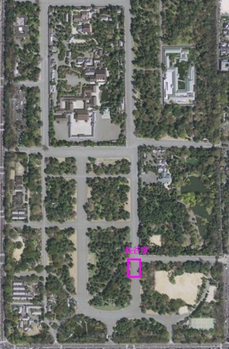 長谷位置航空写真