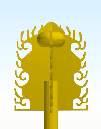 興福寺三重塔(水煙)