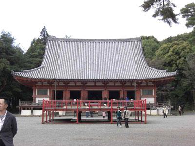 醍醐寺金堂正面