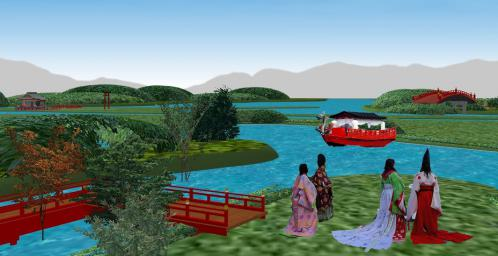 2-①貴族の舟遊び