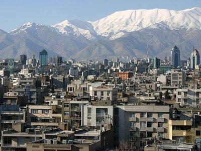 GoogleEarthのテヘラン
