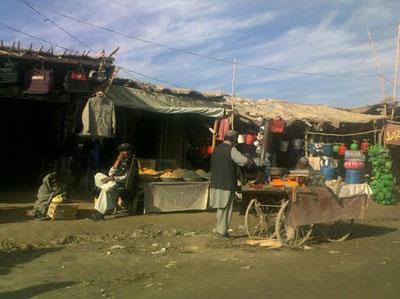 カンダハールの街角
