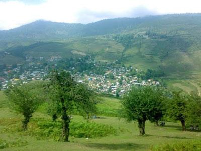マザーラーンダの山村