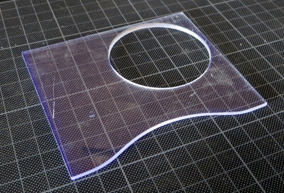 曲線カット型