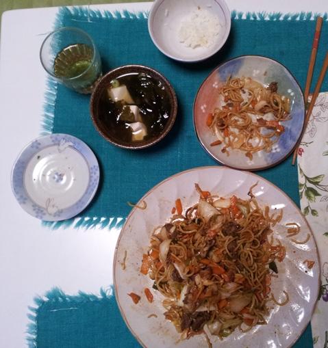 2012-05-16 晩御飯