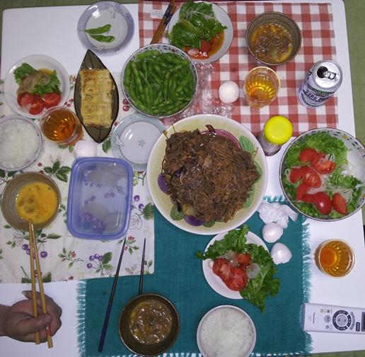 2012-06-03 晩御飯