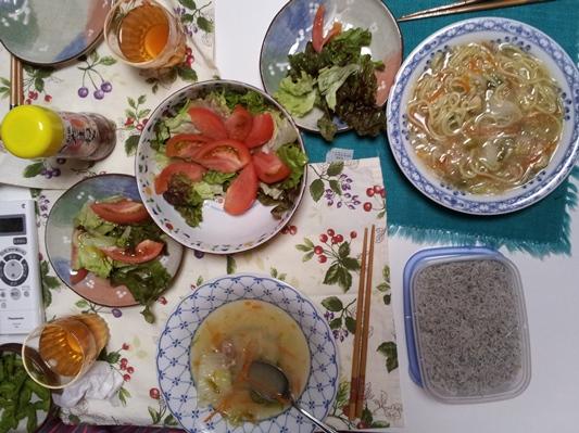 2012-06-06 晩御飯