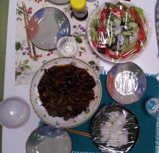 2012-06-15 晩御飯