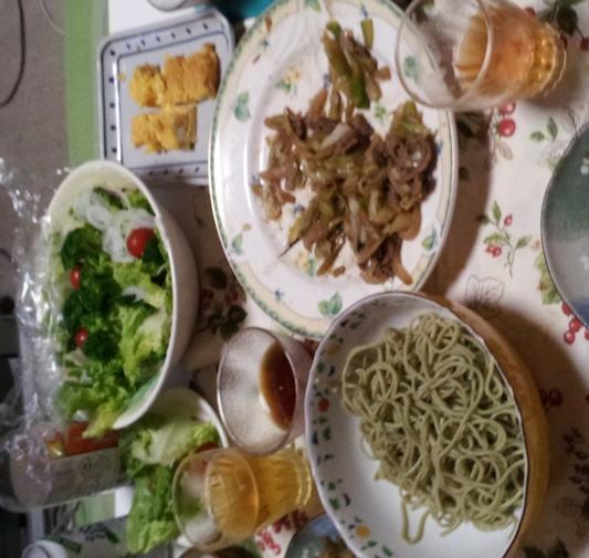 2012-06-16 晩御飯
