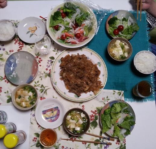 2012-06-17 晩御飯