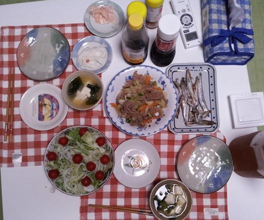 2012-06-28 晩御飯