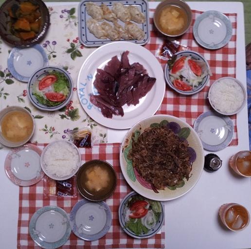 2012-07-01 晩御飯