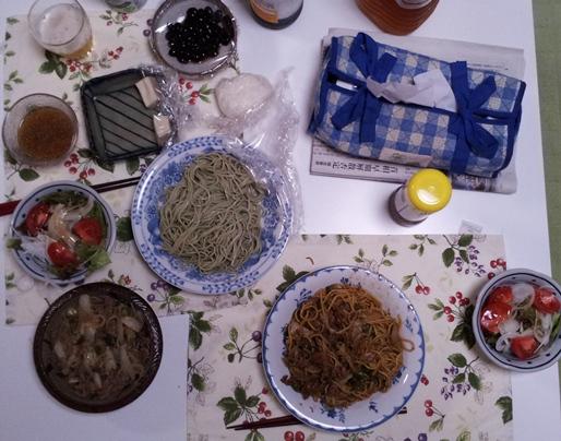 2012-07-10 晩御飯